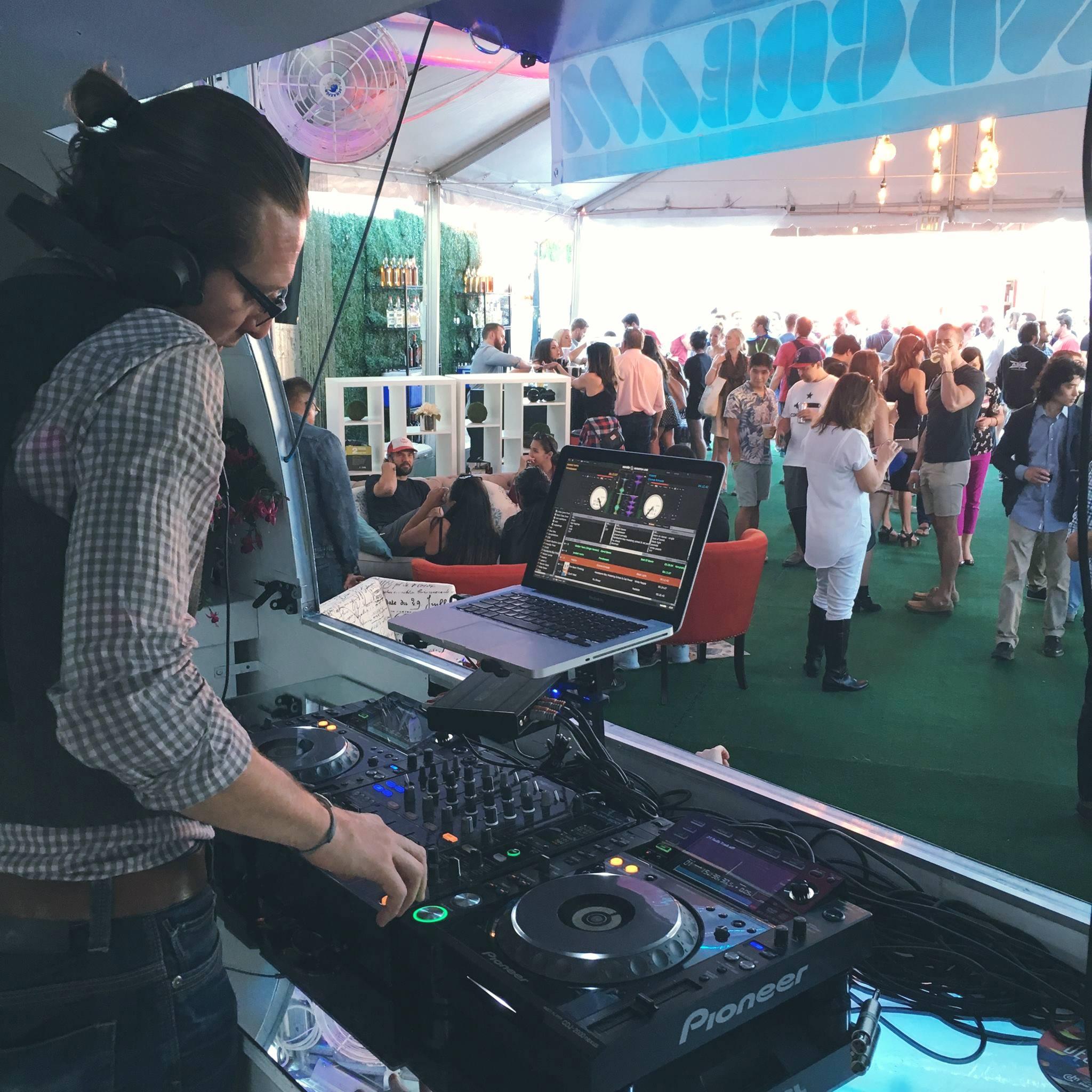 Dj's of Soundcream Airstream